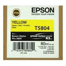 T580400 - Cartouche à jet d'encre originale Epson T580400 - Jaune