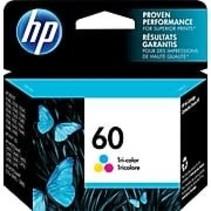 CC643WN cartouche à jet d'encre originale (HP #60C) - Couleur - 165 pages à 5% de couverture de page