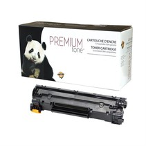 C137 - Cartouche laser compatible Canon #137 - Noire - 2 400 pages à 5% de couverture de page
