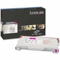 20K0501 - Cartouche laser originale Lexmark - Magenta - 3 000 pages à 5% de couverture de page