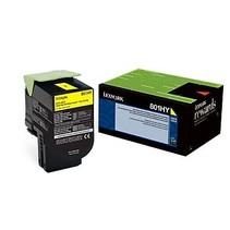 80C1HY0 - Cartouche laser originale Lexmark 80C1HY0 - Jaune - 3 000 pages à 5% de couverture de page