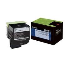 80C1XK0 - Cartouche laser originale Lexmark - Noire - 8 000 pages à 5% de couverture de page