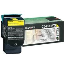 C540A1YG - Cartouche laser originale Lexmark - Jaune - 1 000 pages à 5% de couverture de page