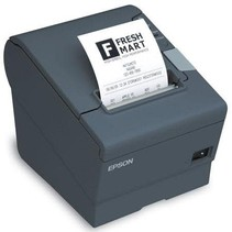 TM-T88V - TM-T88V - Imprimante Reçu monochrome Thermal - 11.8 pc seconde (300mm) graphique et texte - 2.4 seconde pour échelle et code barre 2D - série USB