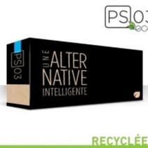 RCF401X - Cartouche laser recyclée québécoise - Cyan - 2300 pages à 5% de couverture de page