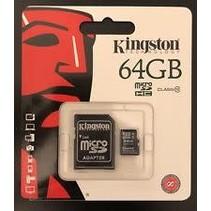 MEM-MICROSD-KINGSTON-C4-64G