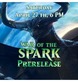 Evening War of the Spark Prerelease [Sat. April 27 @ 6 PM]
