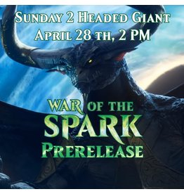 2HG War of the Spark Prerelease [Sun. April 28 @ 2 PM]
