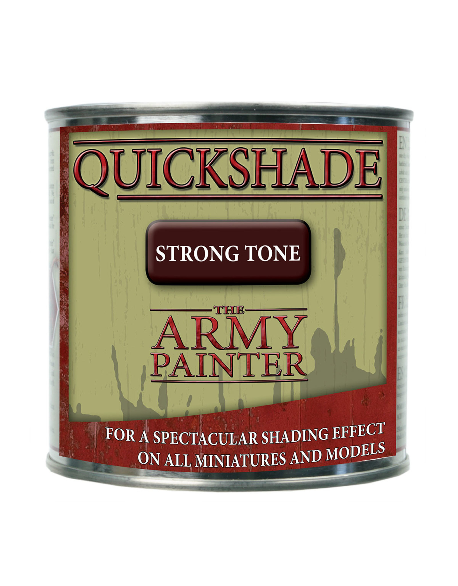 Army Painter TAP Quickshade - Strong Tone Dip (250ml tin)
