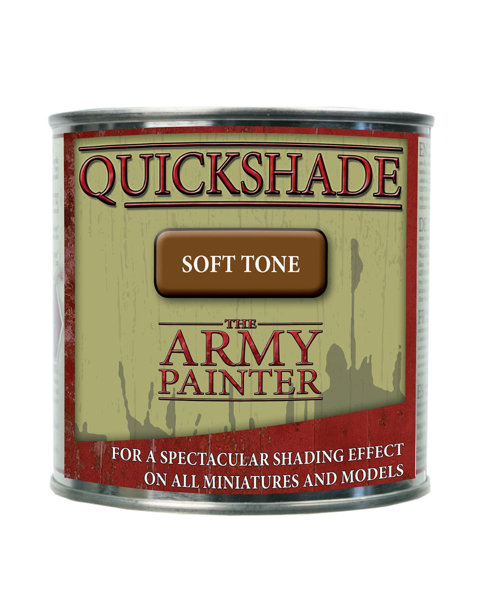 Army Painter TAP Quickshade - Soft Tone Dip (250ml tin)