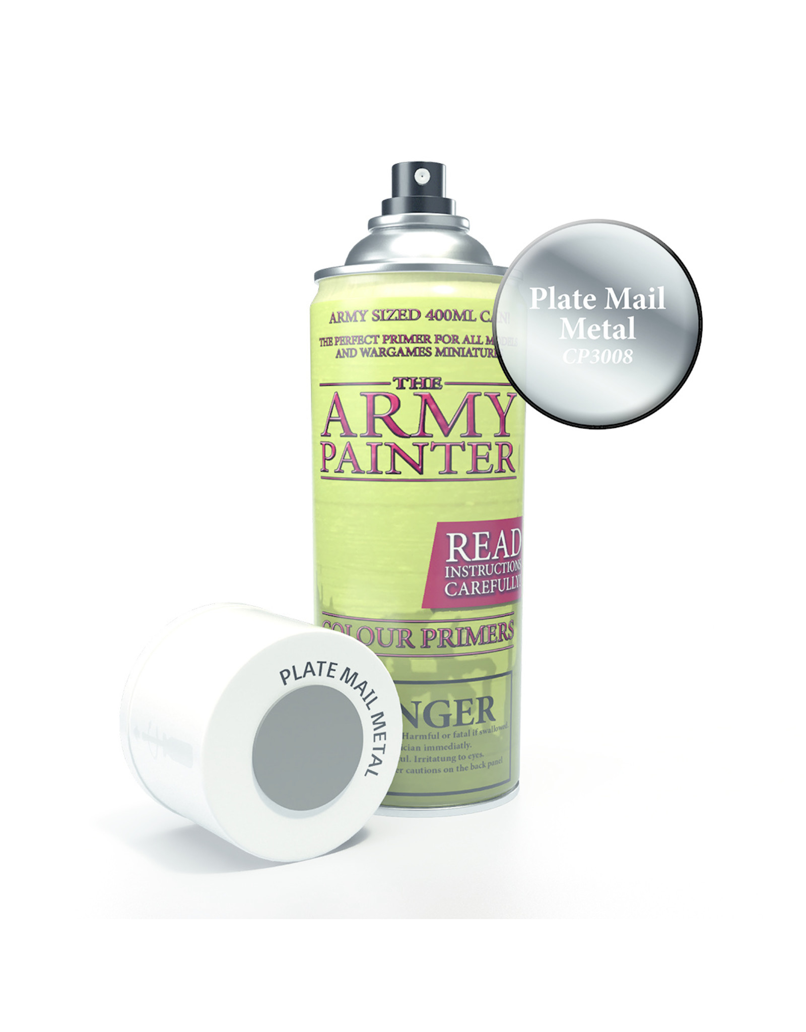 Army Painter TAP Primer - Plate Mail Spray