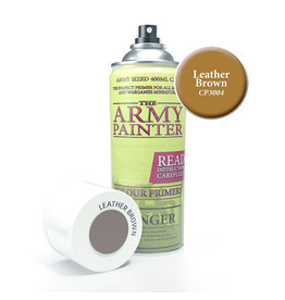 Army Painter TAP Primer - Leather Brown Spray