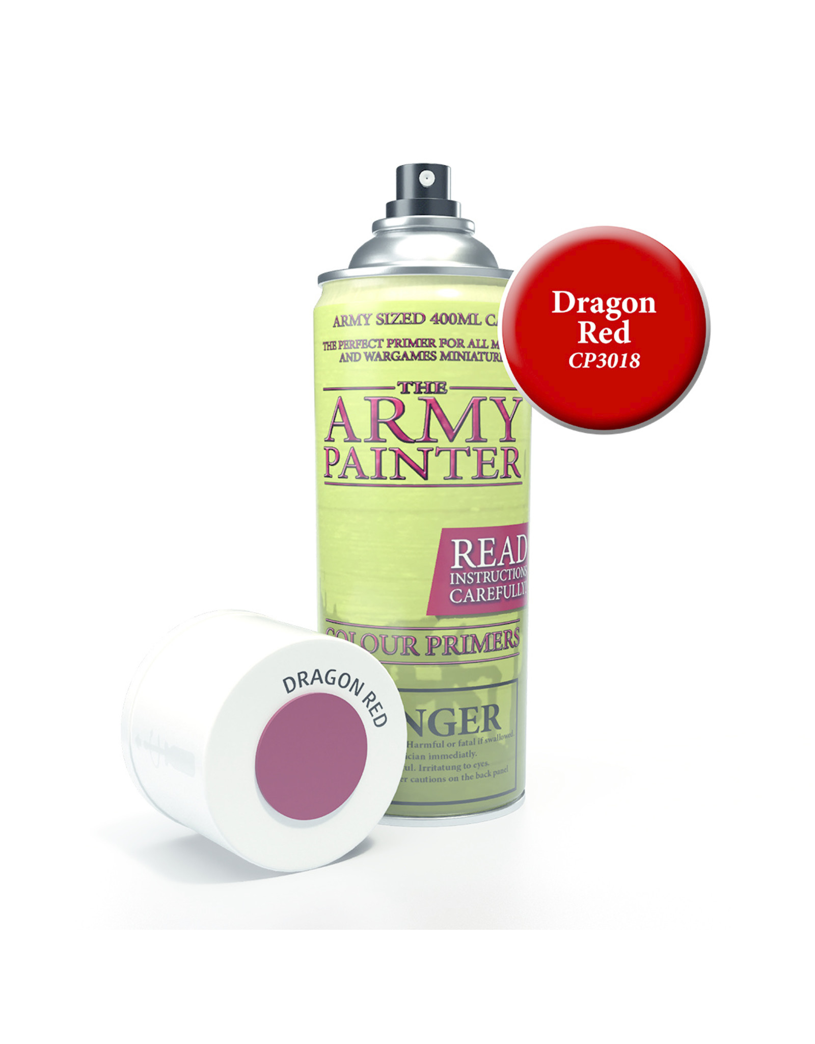 Army Painter TAP Primer - Dragon Red Spray