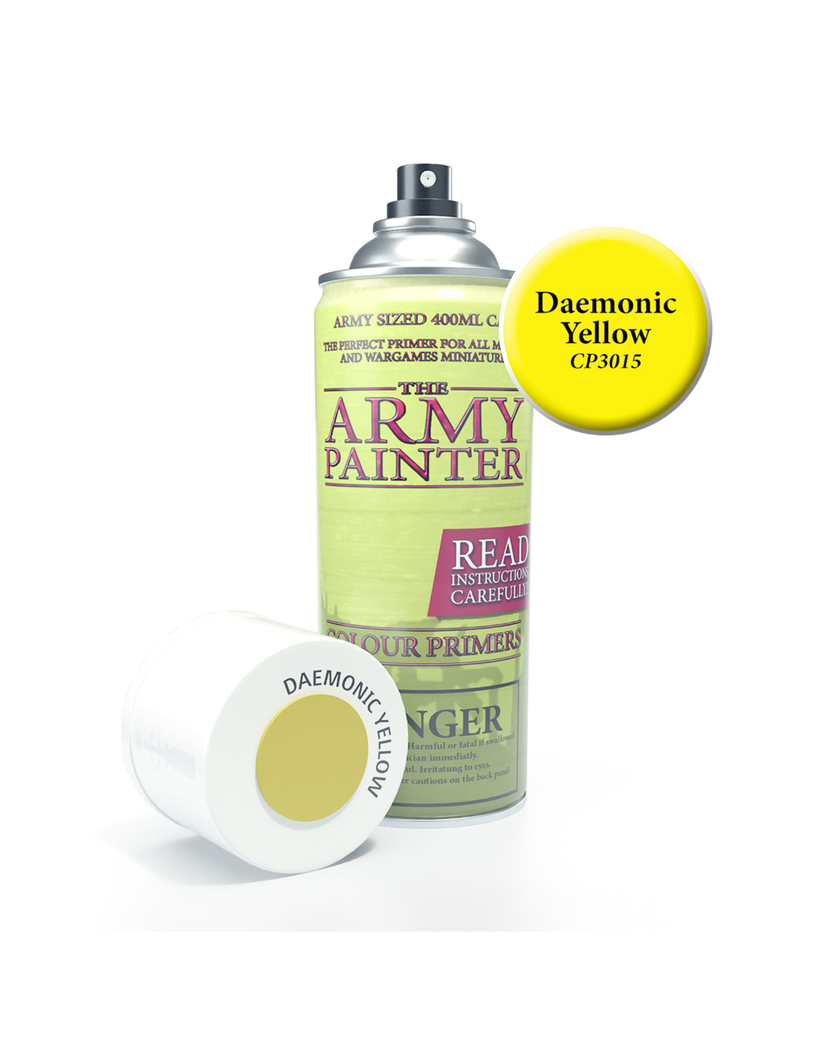 Army Painter TAP Primer - Daemonic Yellow Spray