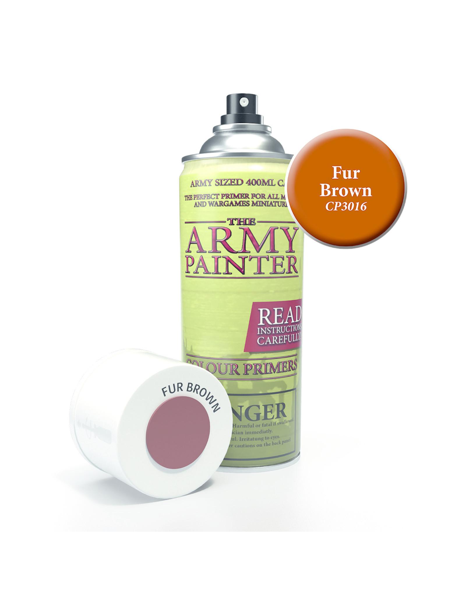 Army Painter TAP Primer - Fur Brown Spray