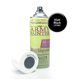Army Painter TAP Primer - Matt Black Spray