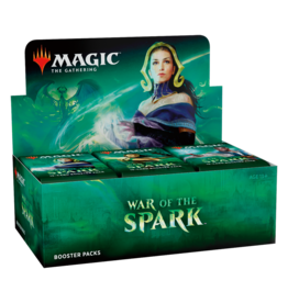 War of the Spark Booster Box Display