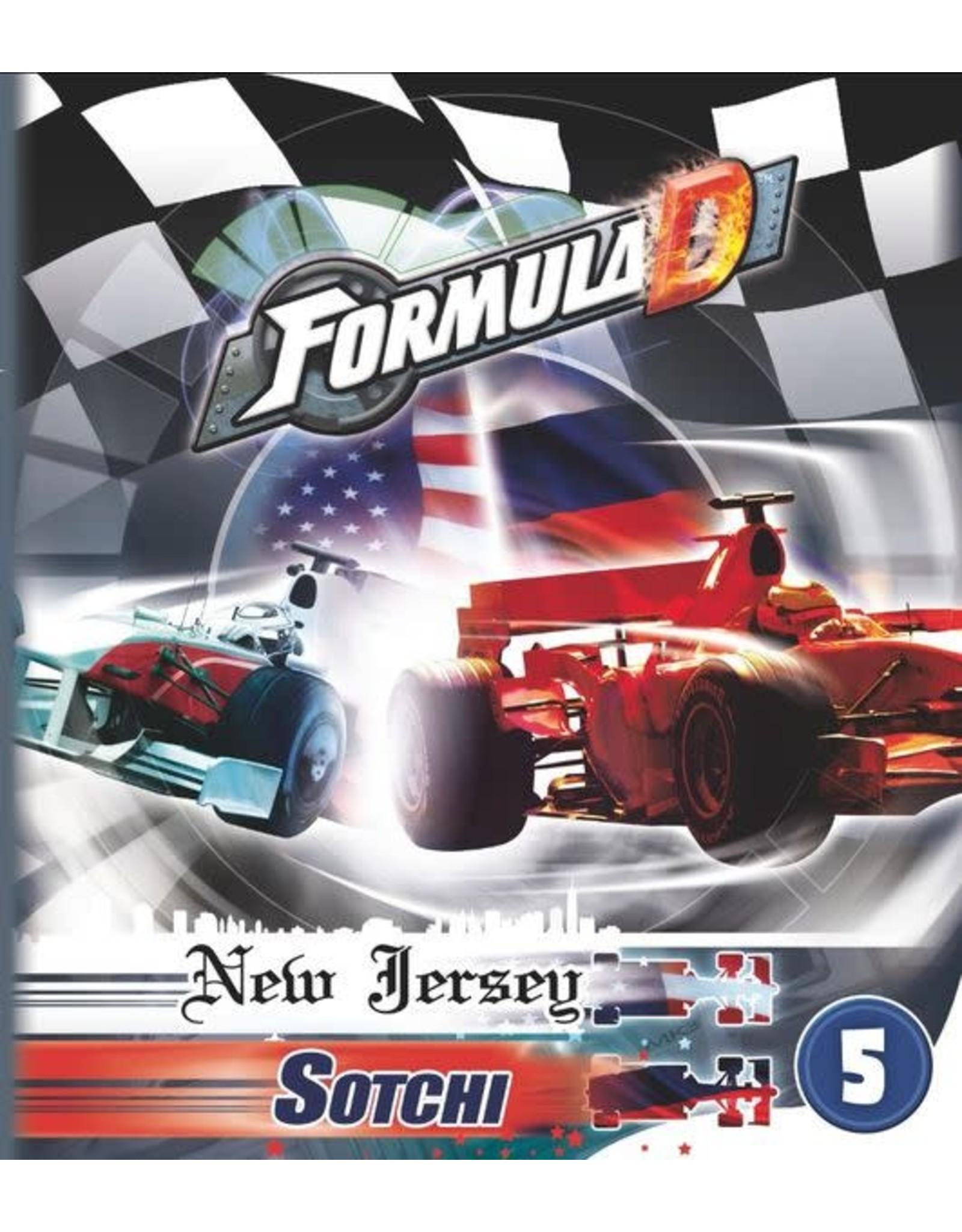 Formula D: Circuits 5  New Jersey & Sotchi
