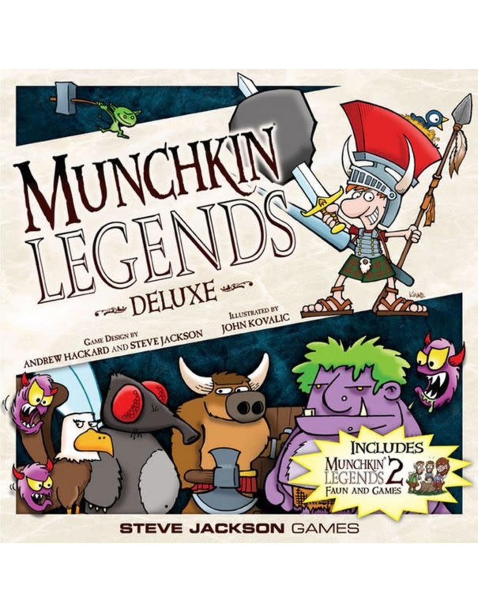 Munchkin Legends Deluxe