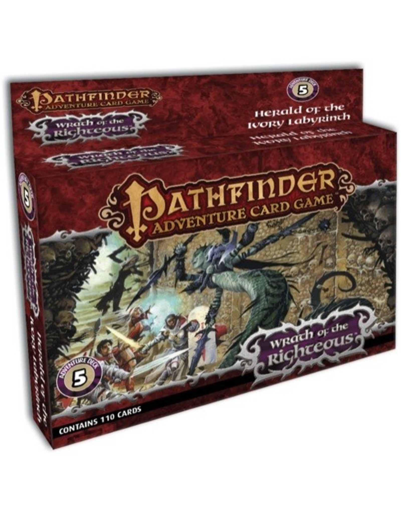 Pathfinder Adventure Card Game: Wrath of the Righteous Adventure Deck 5 - Herald of the Ivory Labyrinth