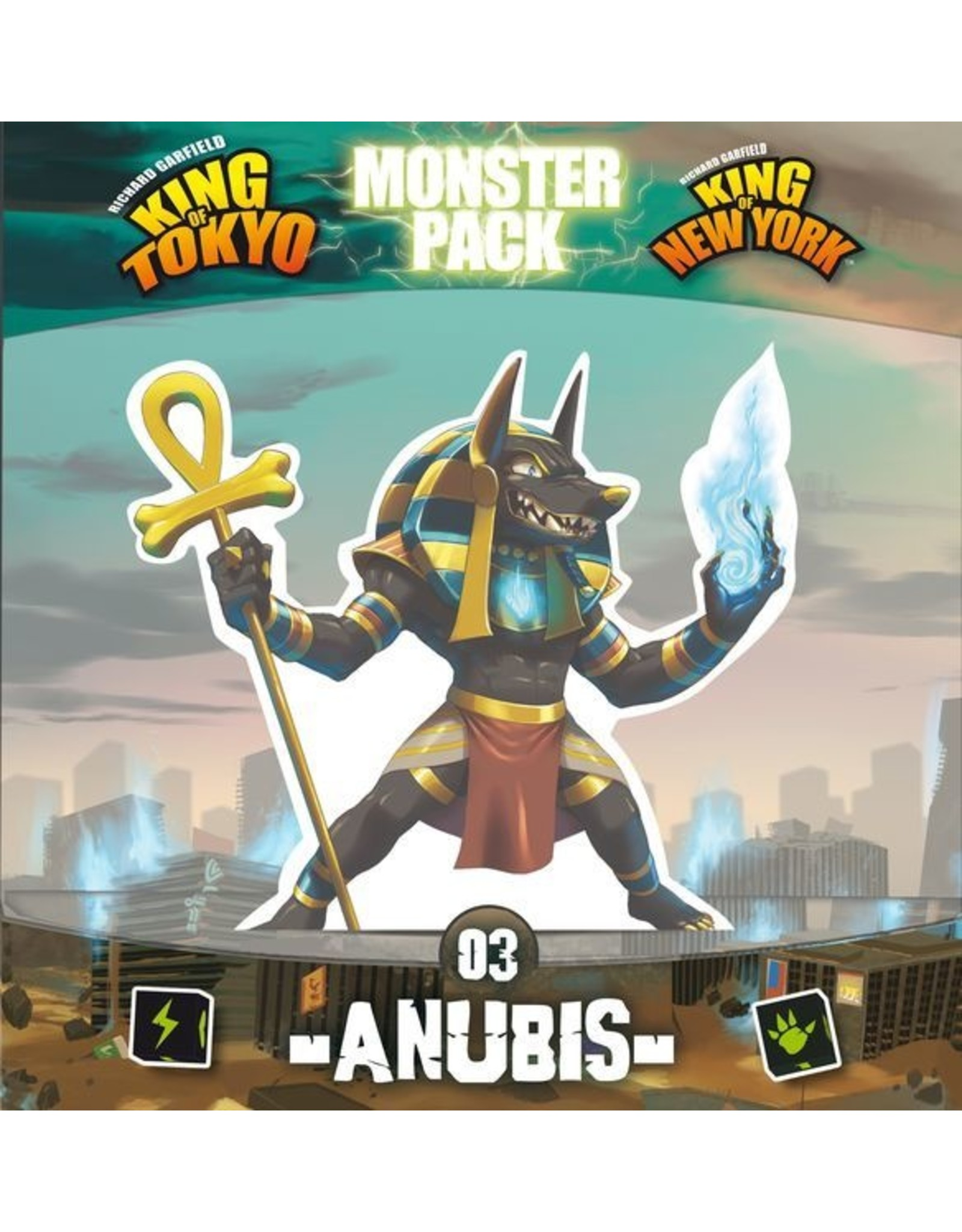 King of Tokyo/New York: Anubis Monster Pack