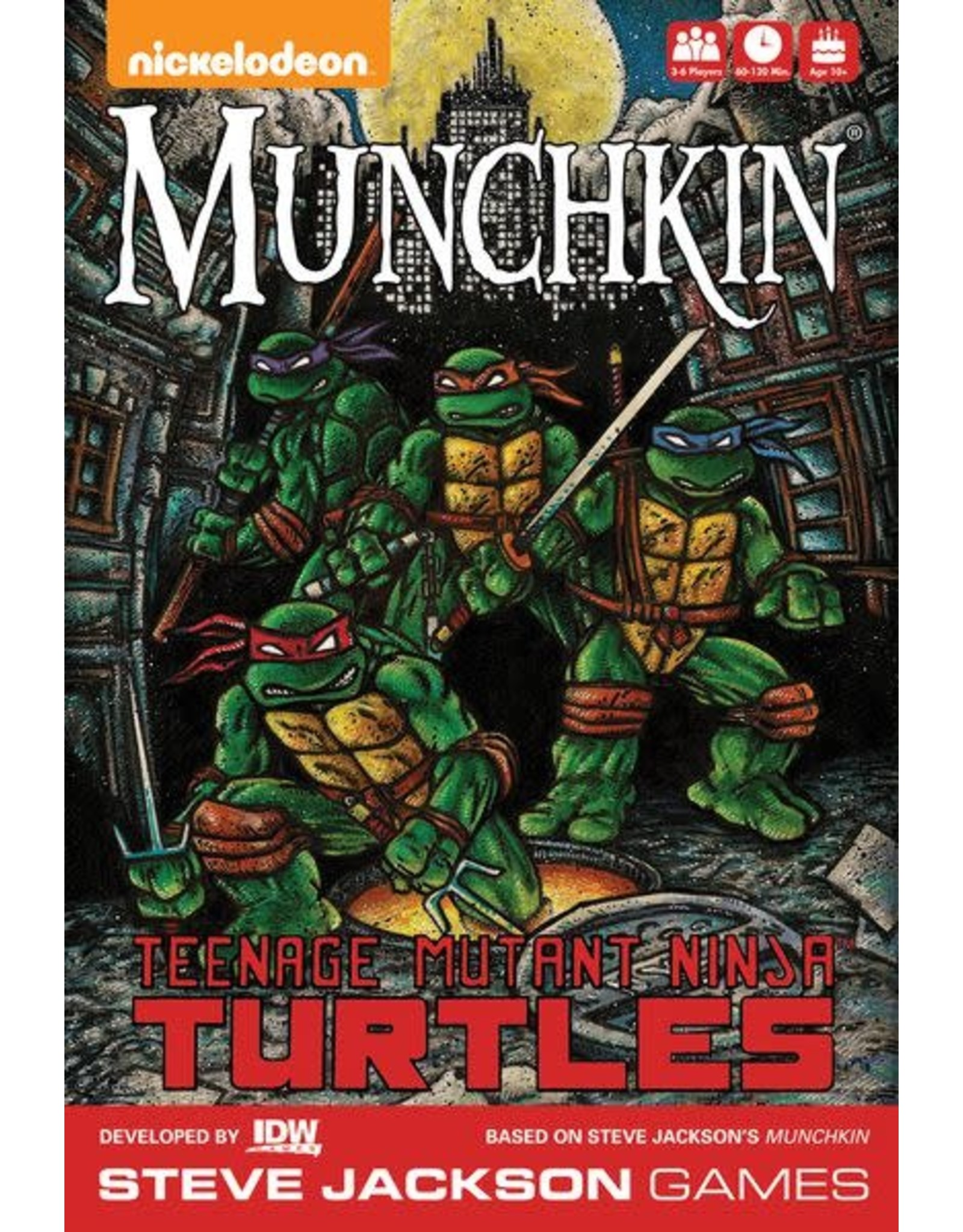 Munchkin Teenage Mutant Ninja Turtles