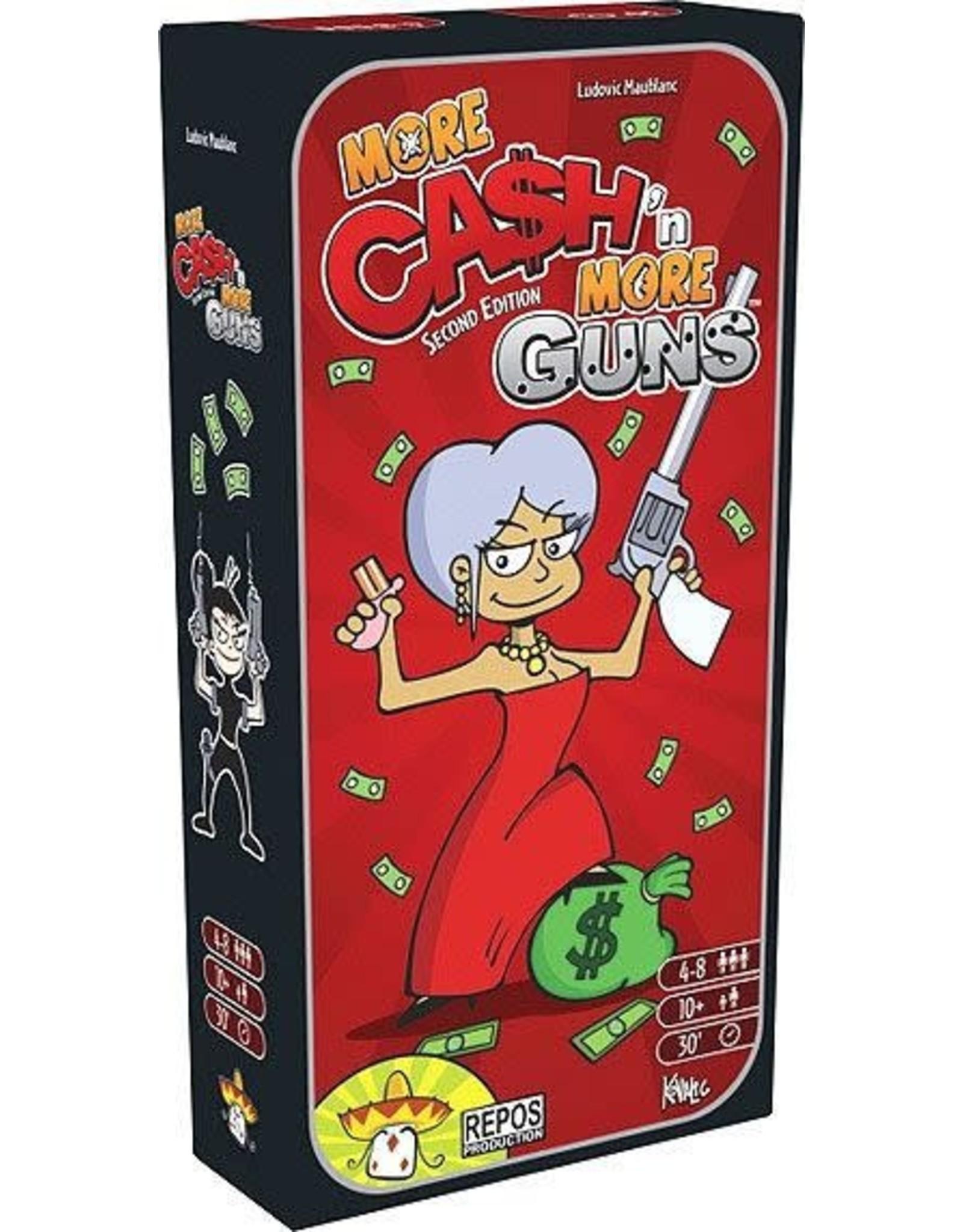 Cash'N Guns: More Cash More Guns Expansion