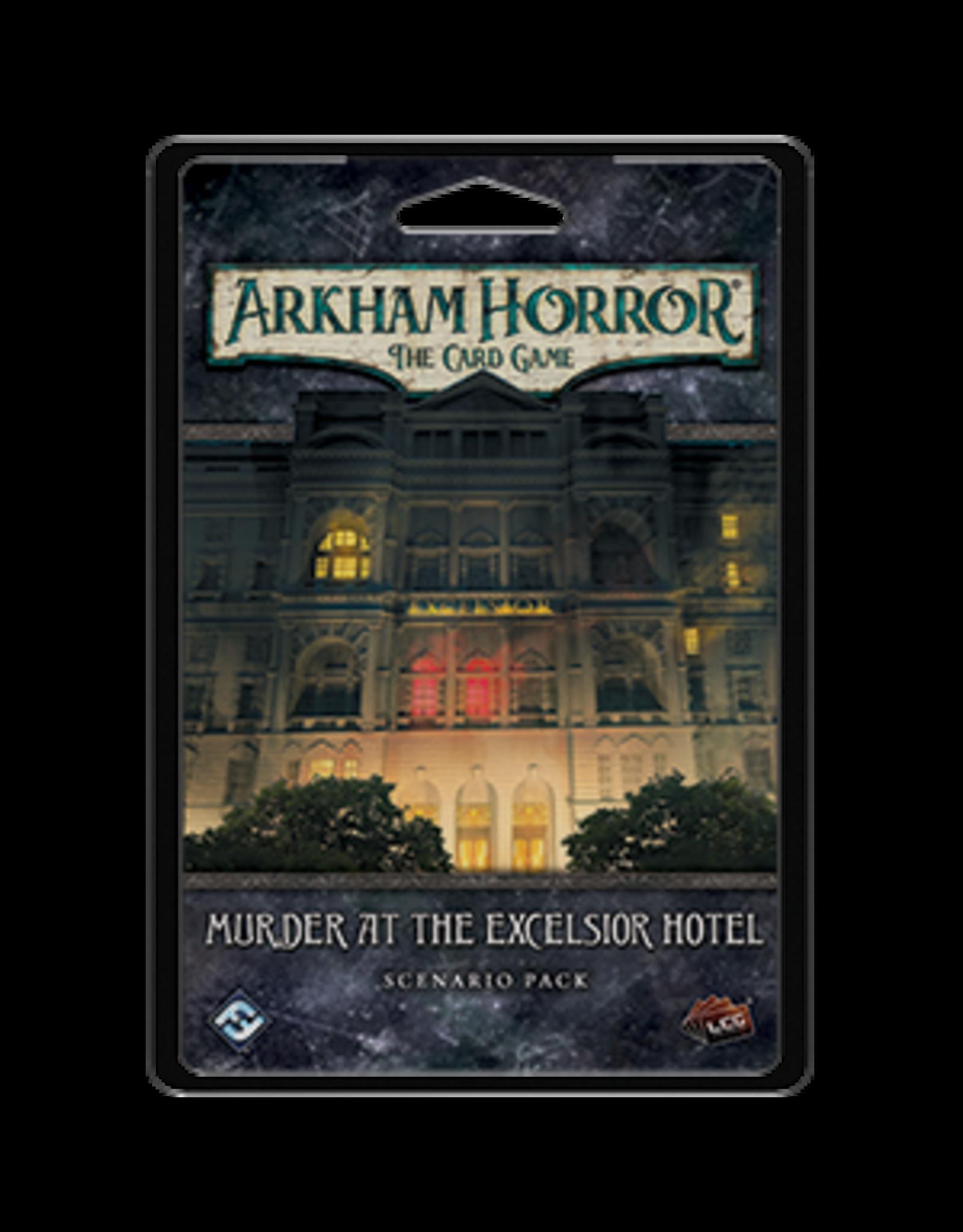 Arkham Horror LCG: Murder at the Excelsior Hotel Scenario Pack