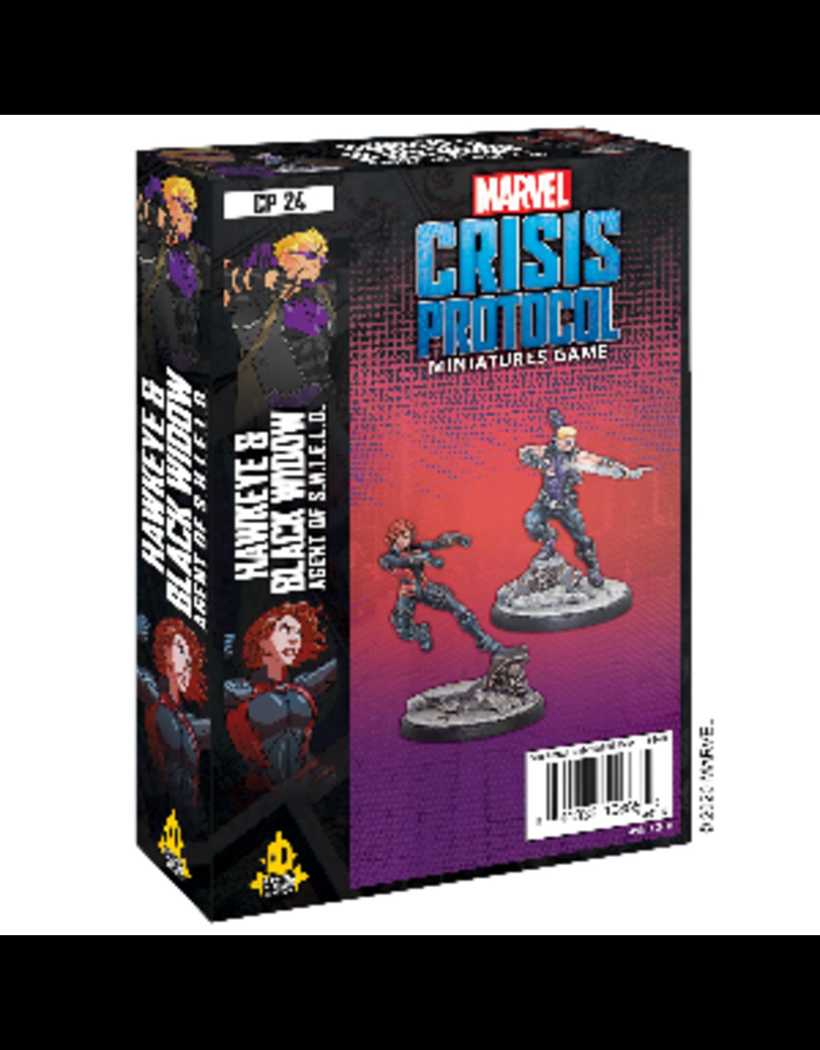 Marvel: Crisis Protocol - Hawkeye & Black Widow: Agents of S.H.I.E.L.D.