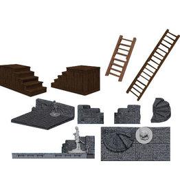 Warlock Tiles - Stairs & Ladders