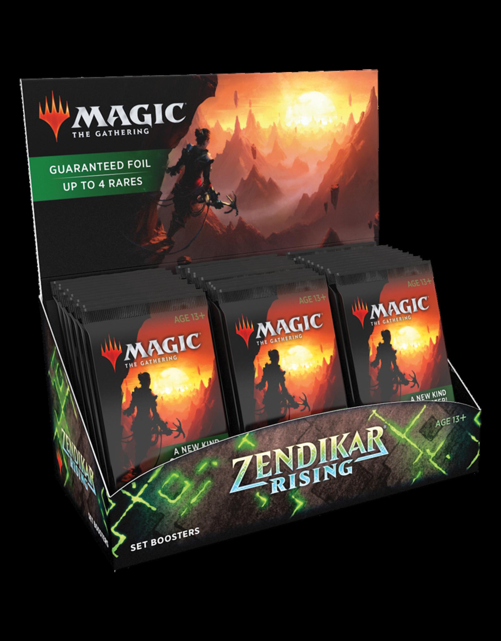 Zendikar Rising Set Booster Display