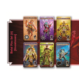 Gloomhaven: Collectors Pins [PREORDER]