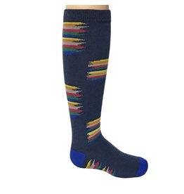 Zubii Zubii Paintbrush Knee Socks