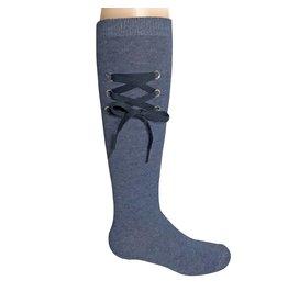Zubii Zubii Shoe Lace Knee Socks