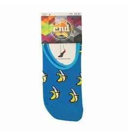 Condor Condor Kids Banana Print No-Show Socks 3025/0