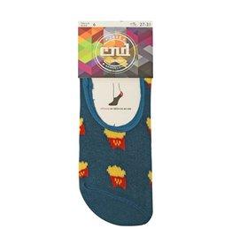 Condor Condor Kids French Fries Print No-Show Socks 3027/0