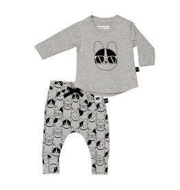 Huxbaby Huxbaby French Shades Long Sleeve Set
