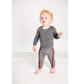 Kipp Kipp Knit Ribbed Stripe Leggings