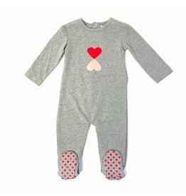 Kipp Kipp Heart Reflector Red Footie