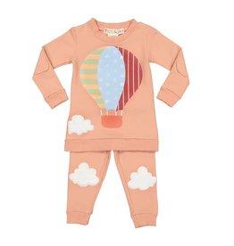 Teela Teela Hot Air Balloon Pink Pajamas