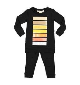 Teela Teela Metallic Stripes Pajamas