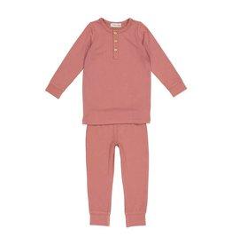 Lil Leggs Lil Leggs Bamboo Rose Pajamas