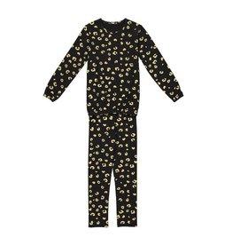 Noggi Noggi Metallic Leopard Pajamas