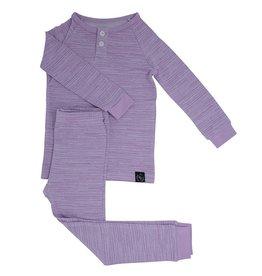 Sweet Bamboo Sweet Bamboo Purple Lines Pajamas