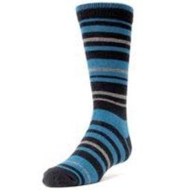 Memoi Memoi Multi Stripe Boys Dress Sock MK-133
