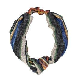 becca + bella becca and bella Topaz Knit Street Knot Turban (Blue)