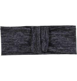 becca + bella becca and bella Heathered Knit Double Knot Turban (Graphite)