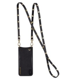 Bandolier Bandolier Sarah Black & Gold Crossbody for iPhone