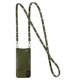 Bandolier Bandolier Sarah Cactus & Silver Crossbody for iPhone