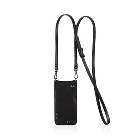 Bandolier Bandolier Emma Black & Gold Crossbody for iPhone